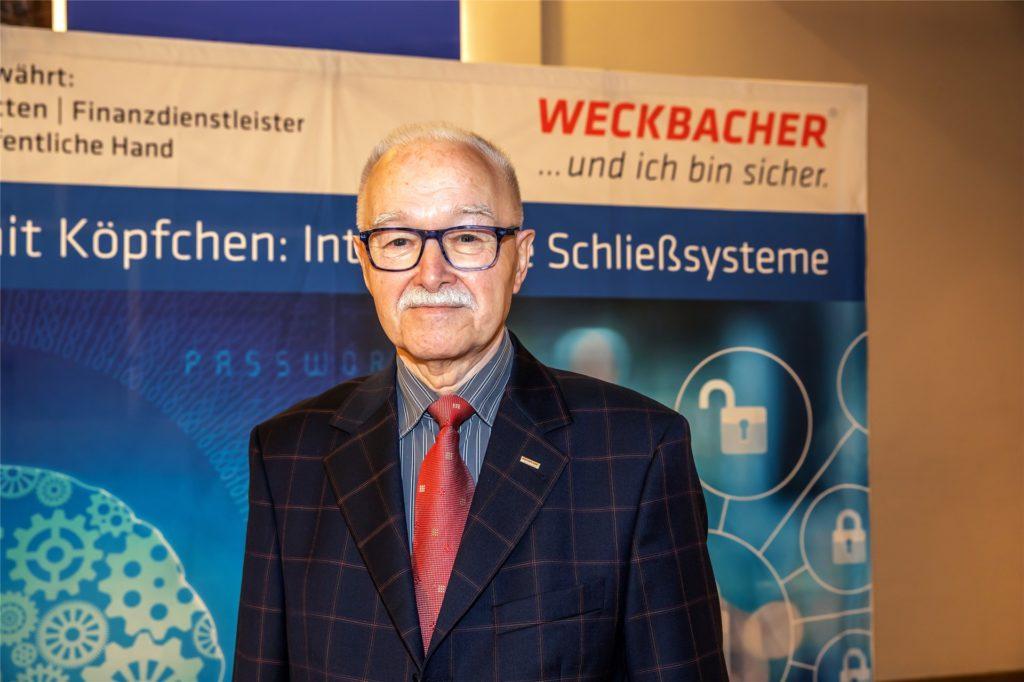 Der ehemalige Prokurist Eckhard John erzählt bis heute gerne die Geschichte, wie er 1998 den Auftrag für die Schließanlagen im Berliner Reichstagsgebäude nach Dortmund holte.