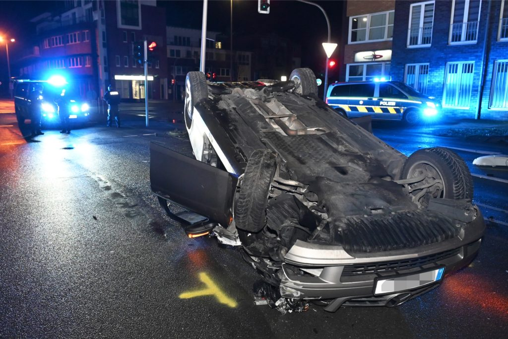 Unfall in Hervest