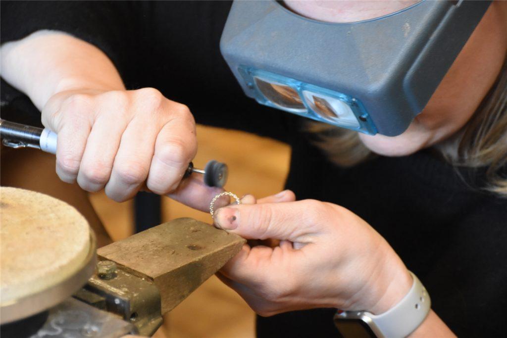 Melanie Gebing sieht sich in erster Linie als Handwerkerin.