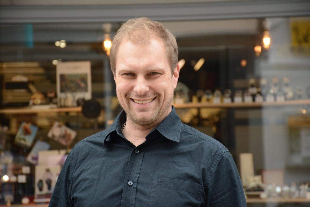 Lorenzo Köller ist seit 27. März 2019 Vorsitzender der Dorstener Interessengemeinschaft Altstadt.