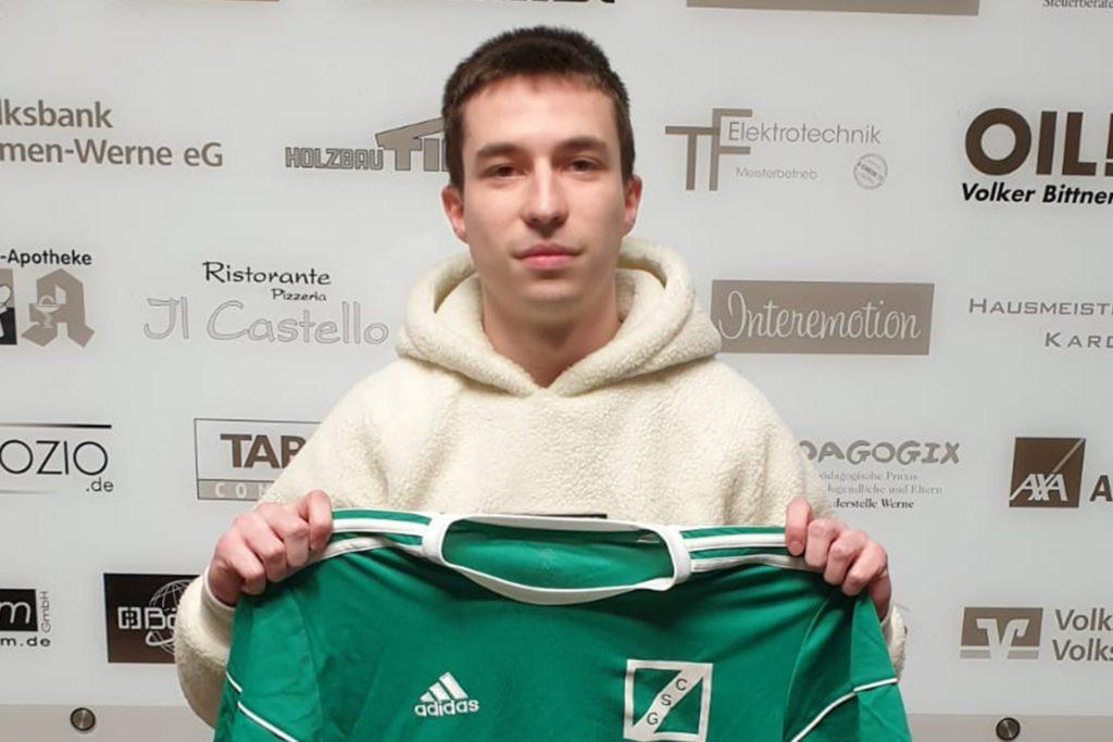 Eduard Lorenz wird ab kommender Spielzeit die Defensive von Grün-Schwarz Cappenberg verstärken.