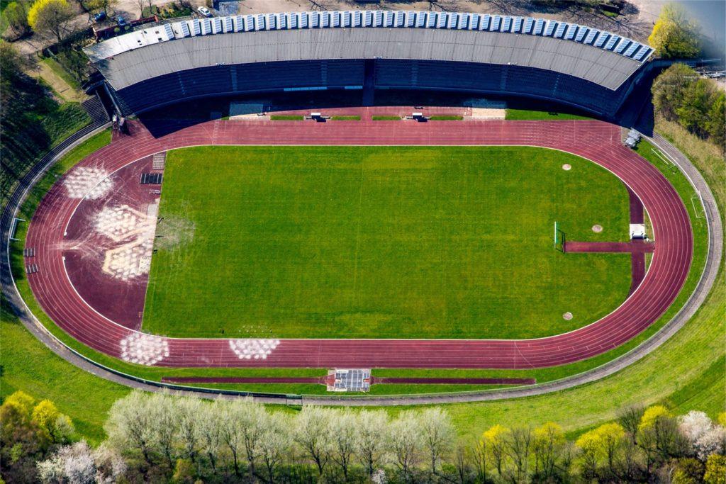 Das Stadion Hohenhorst ist erstmals ein Spielort.