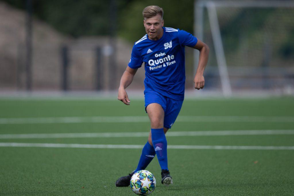 Felix Lohmann traf in dieser Saison weniger für den SV Südkirchen, spielt aber auch mannschaftsdienlicher.