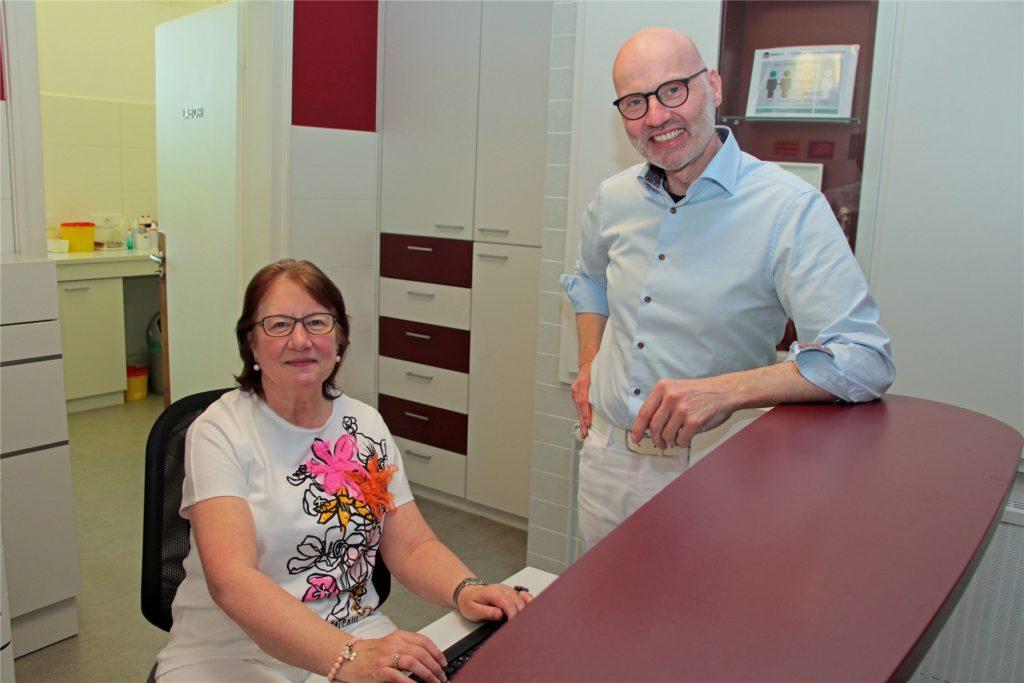In dem Jahr, in dem ihr heutiger Chef Dr. Thomas Rath geboren wurde, 1968, nahm Irmtrud Lorenz ihre Ausbildung auf.