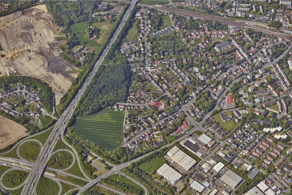 Westlich der A45 liegt derkünftige