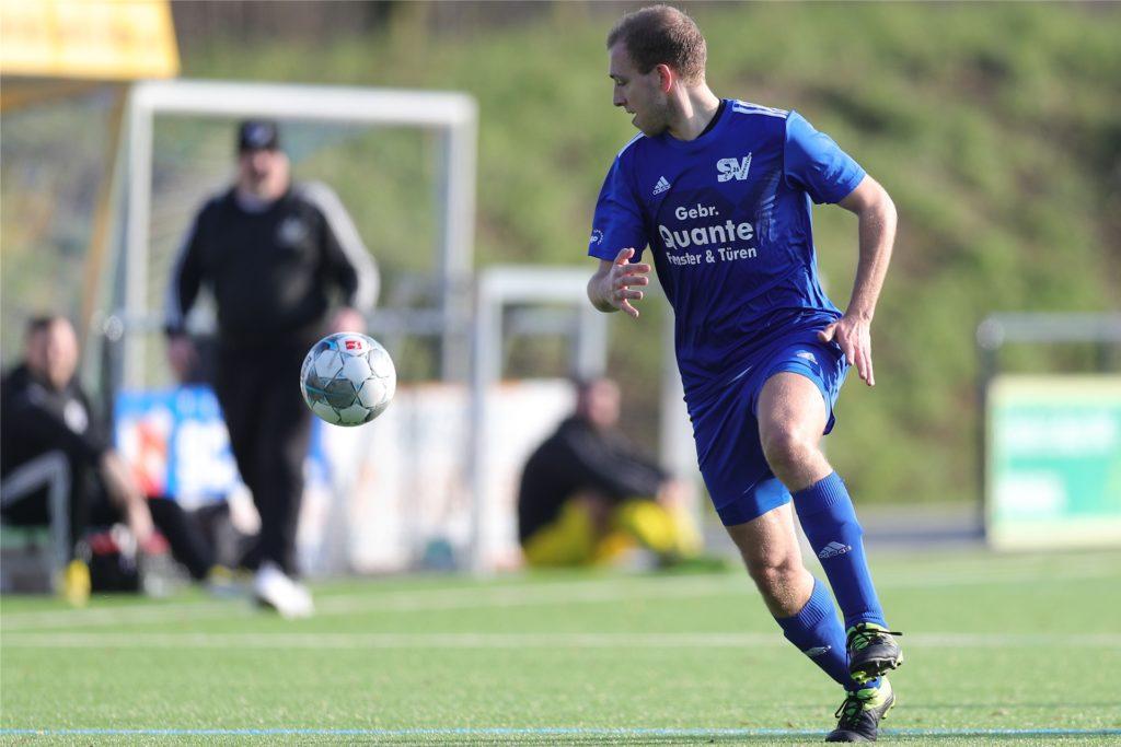 Moritz Schulte gehört zu den erfahrenen Kräften beim SV Südkirchen.