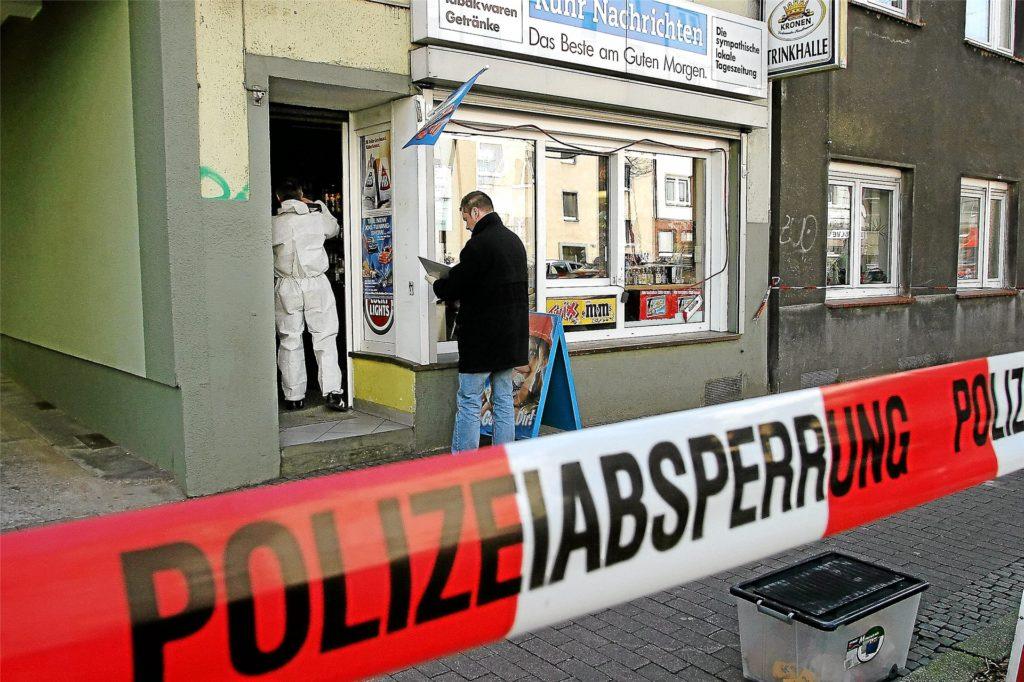 Ein Bild vom Tatort an der Mallinckrodtstraße im April 2006.