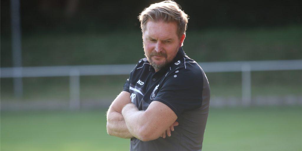 Mario Plechaty und der FC Nordkirchen hatten viele Verletzte zu beklagen.