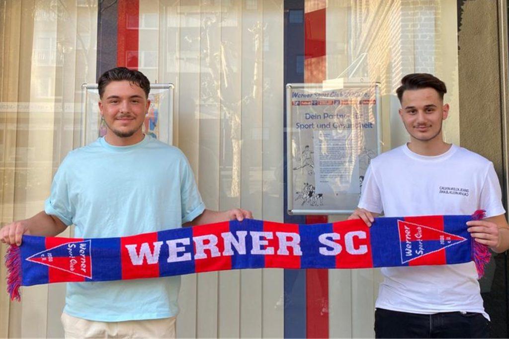 Ramazan Korkut und Deniz Sönmez kommen aus Rhynern zum Werner SC.