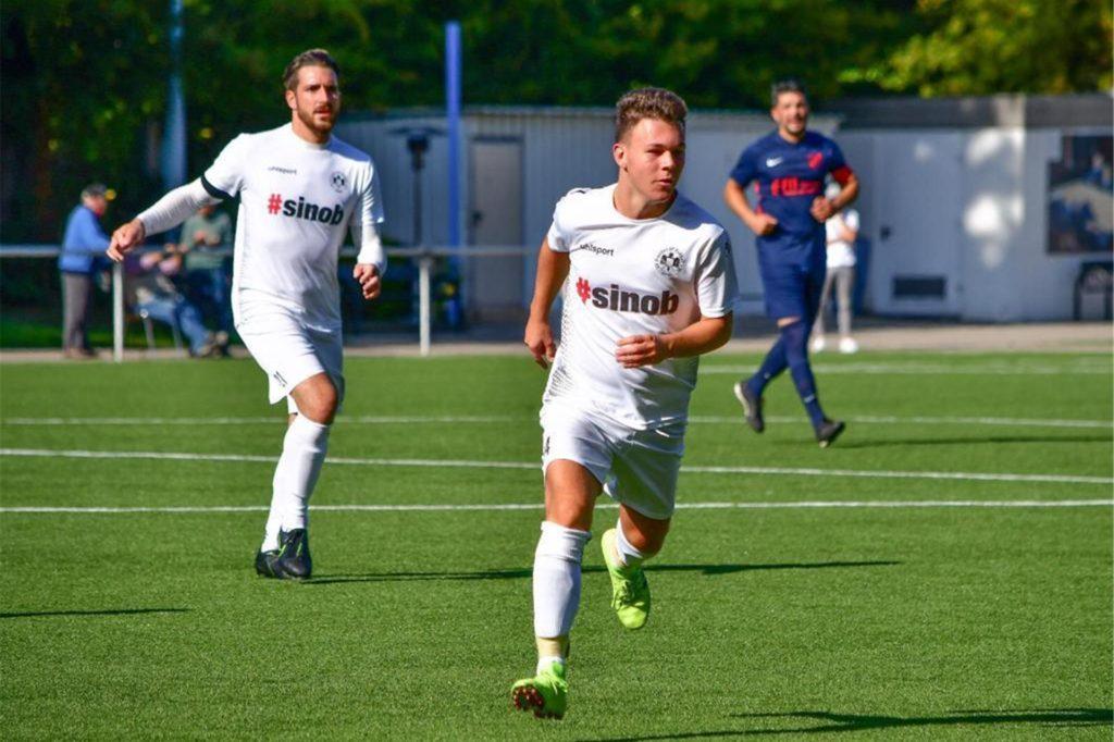 Kevin Gomulka (vorne) verlässt den SV Preußen Lünen im Sommer nach zwei Jahren.