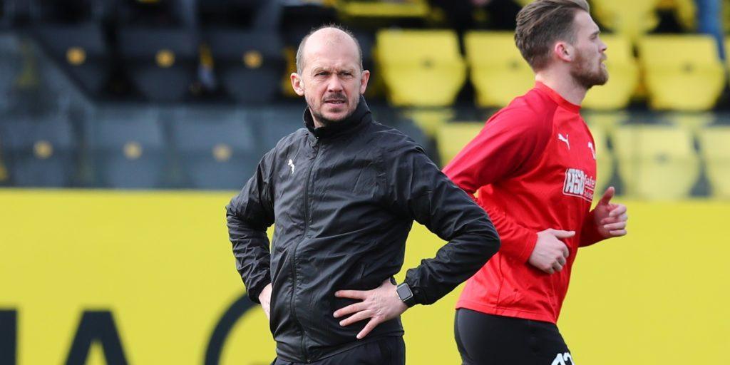 Marc Woller, Ex-Coach des Lüner SV, ist derzeit noch Co-Trainer beim SV Lippstadt.