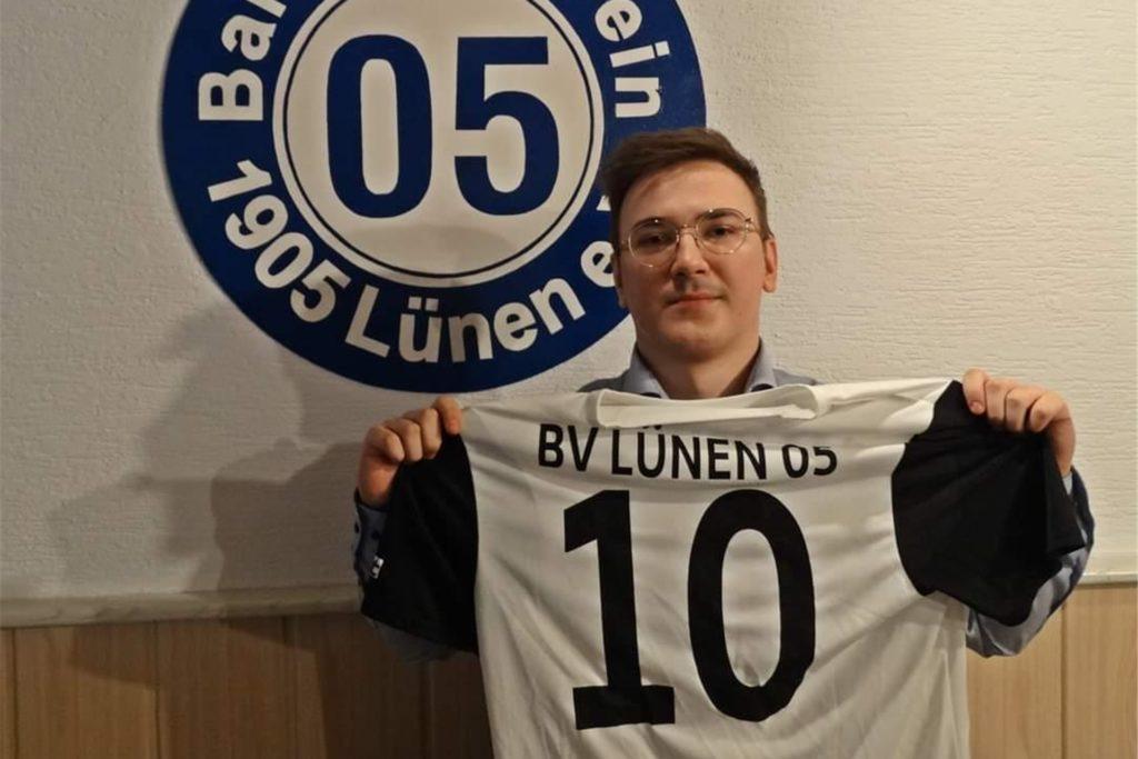 Dennis Brack war bereits in der Jugend für den BV Lünen am Ball.