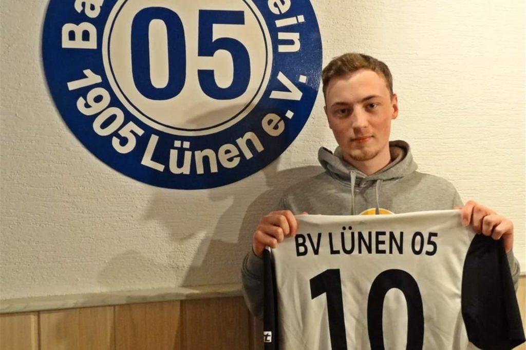 Linksfuß Leon Geißler soll das Mittelfeld des BV verstärken.