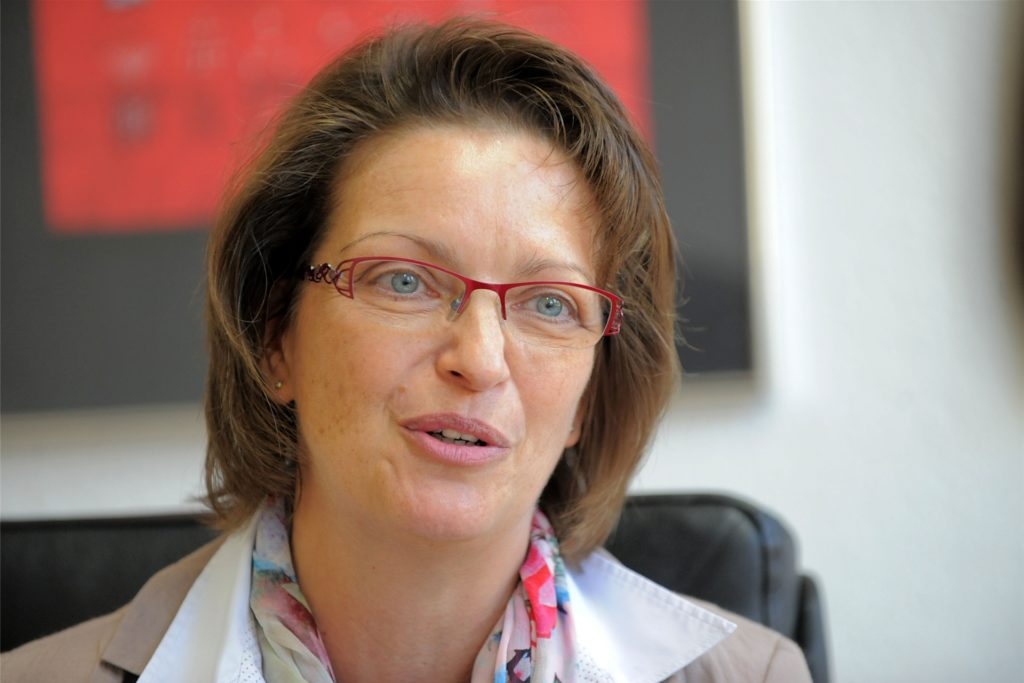 """Bärbel Eschmann vom RTG sagt: """"Man muss den Kindern Mut machen."""""""