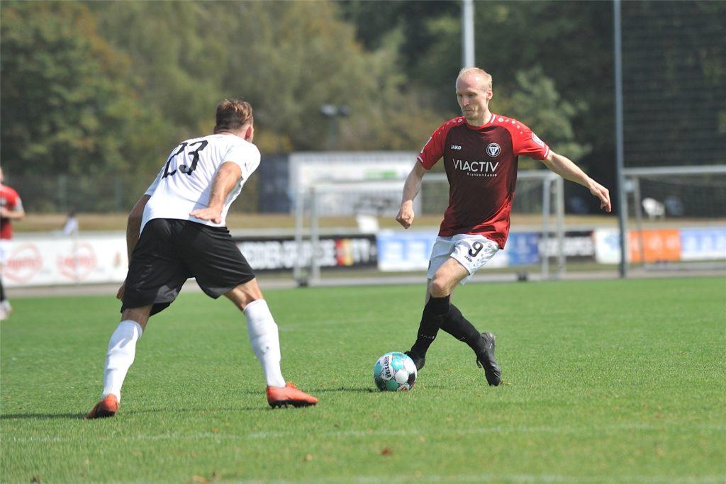 Tobias Becker vom TuS Haltern am See war froh, als bekannt wurde, dass die Saison 2020/21 annulliert wird.