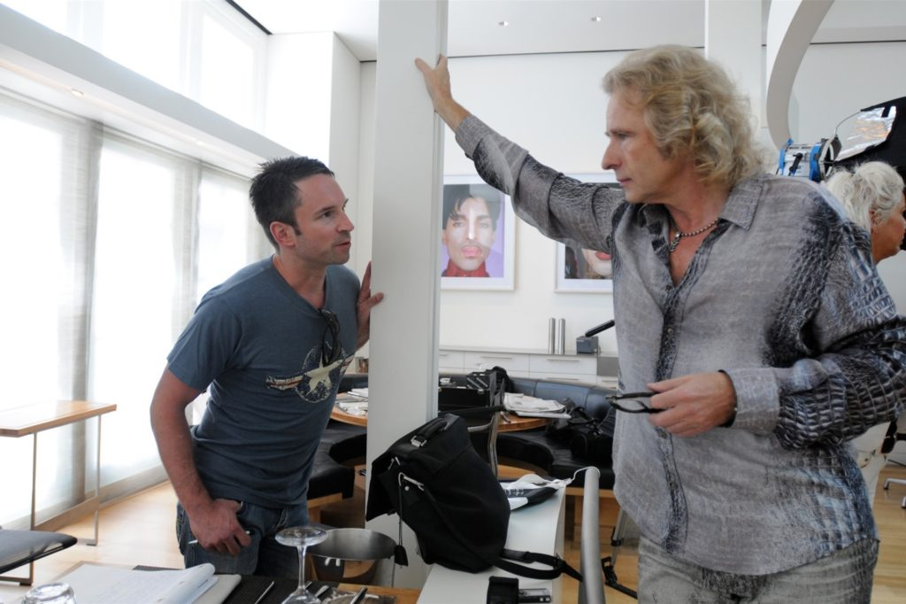 Mike Powelz hat Thomas Gottschalk 2008 in Los Angeles besucht.