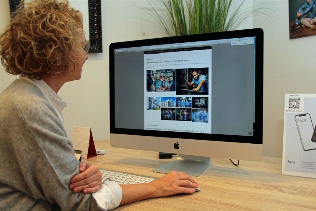 Für die professionelle Gestaltung von Internetseiten können Firmen, Selbstständige, etc. Förderungen beantragen, sagt Fotografin Susanne Kästner.