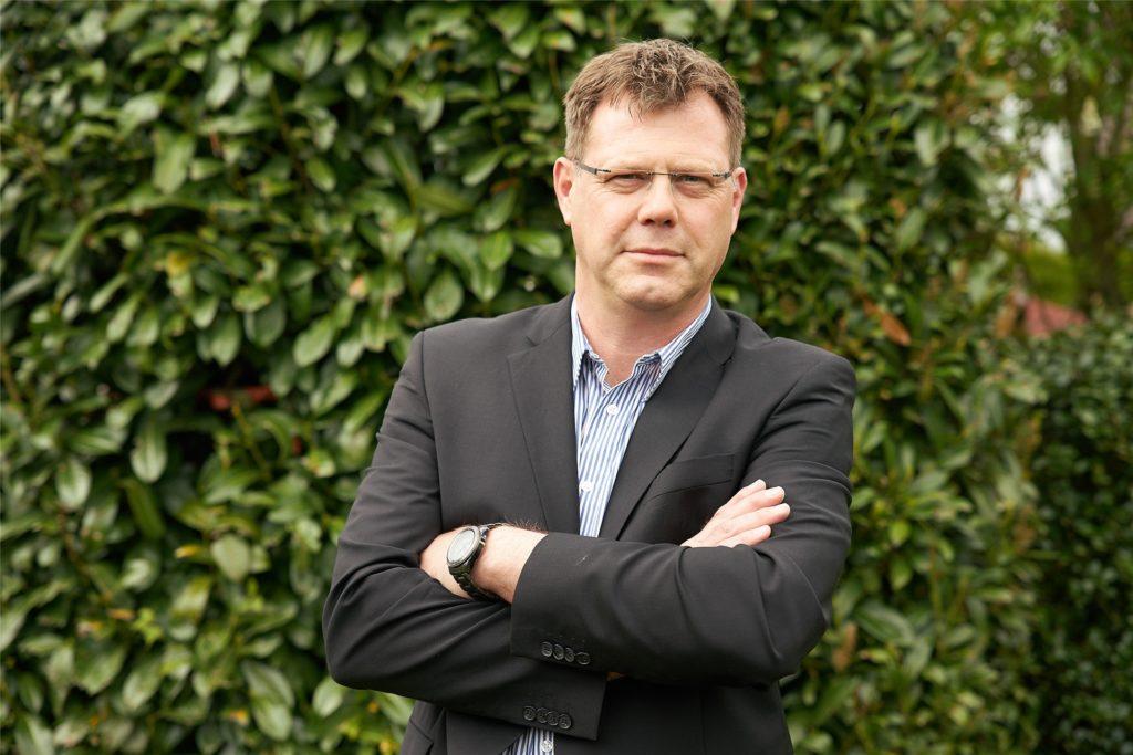 Markus Gronemeyer ist Schiedsperson der Stadt Haltern.