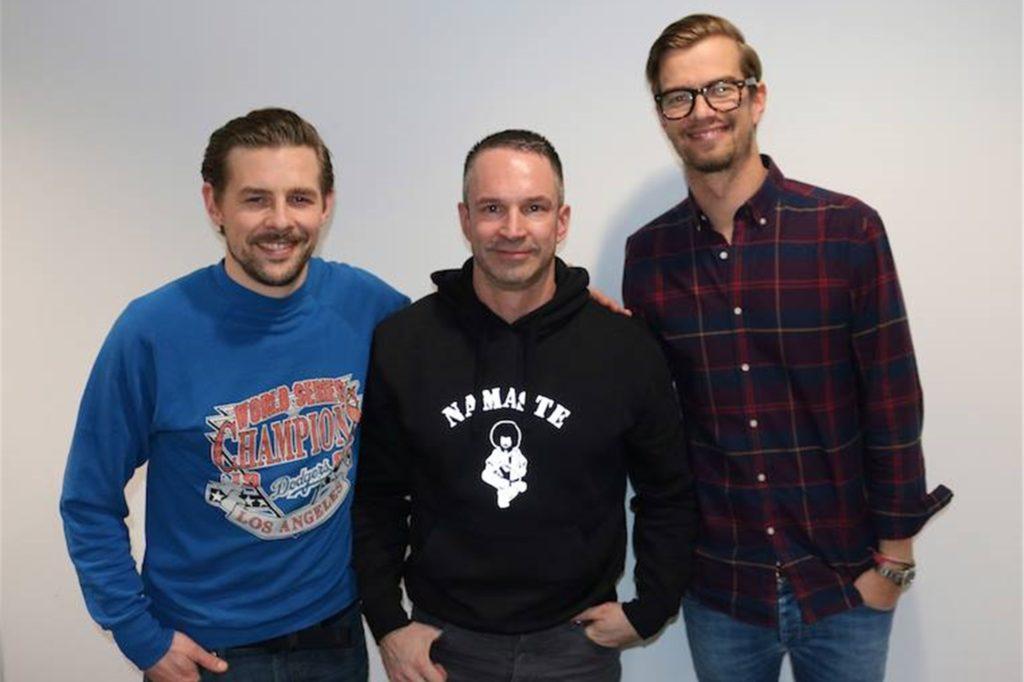 Auch Joko Winterscheidt und Klaas Heufer-Umlauf hat Mike Powelz schon getroffen.