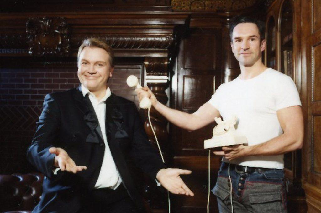 Mit Hape Kerkeling stand Mike Powelz gemeinsam vor der Kamera.