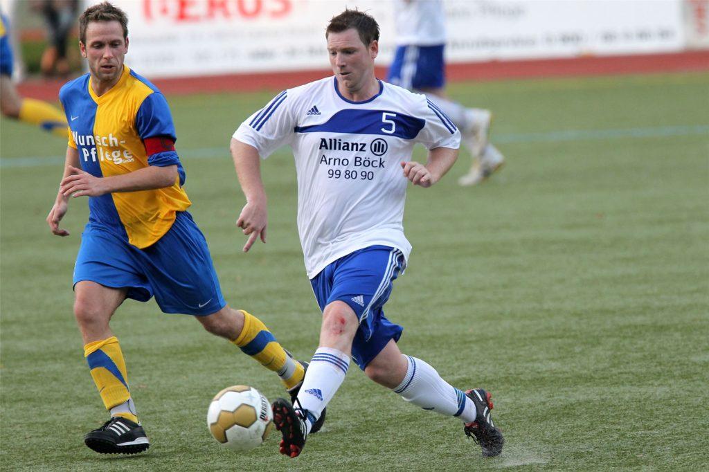 Dennis Hasecke lief als Senior für die Castrop-Rauxeler Vereine Wacker Obercastrop und Spvg Schwerin sowie später als Spielertrainer für die SG Castrop auf.