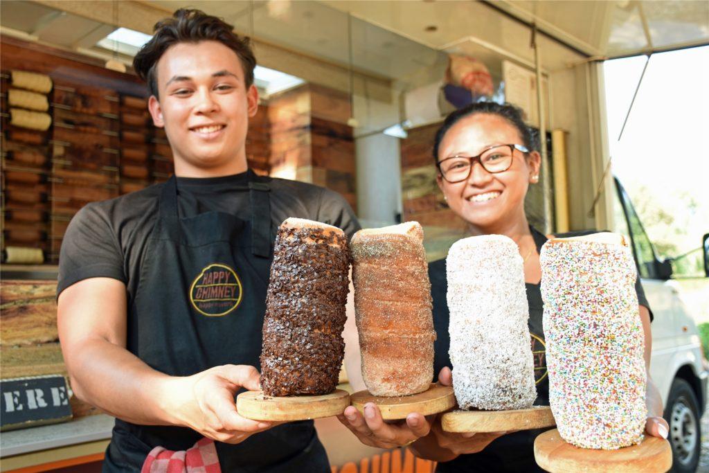 Foodtrucks sind in Stadtlohn auch schon gut angekommen. Sie sollen auch das Stadtfest kulinarisch bereichern.