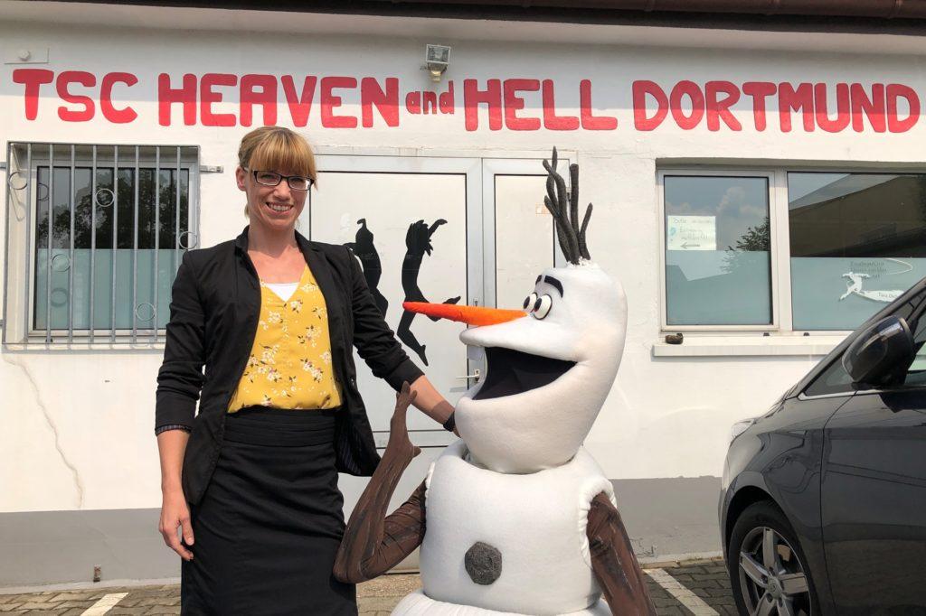 Svenja Cotte und der TSC Heaven and Hell veranstalten immer wieder Aktionen für Kinder.