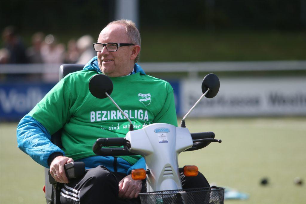 Norbert Sander arbeitet eng mit Christian Brüse zusammen.