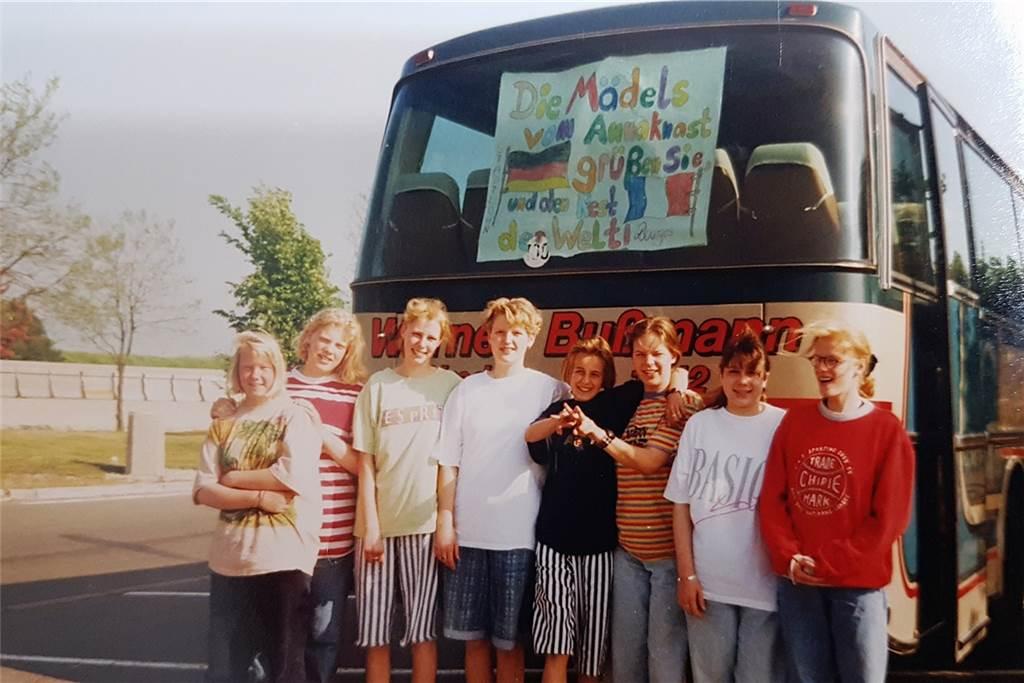 Vor 30 Jahren war die damalige Jahrgangsstufe 9 der St.-Anna-Realschule in Stadtlohn in Bourges-Frankreich zum Schüleraustausch.
