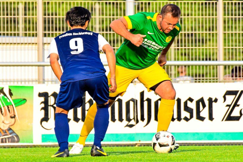 Lukas Dzierzega kommt mit einer Menge Westfalenliga-Erfahrung zu Westfalia Vinnum.