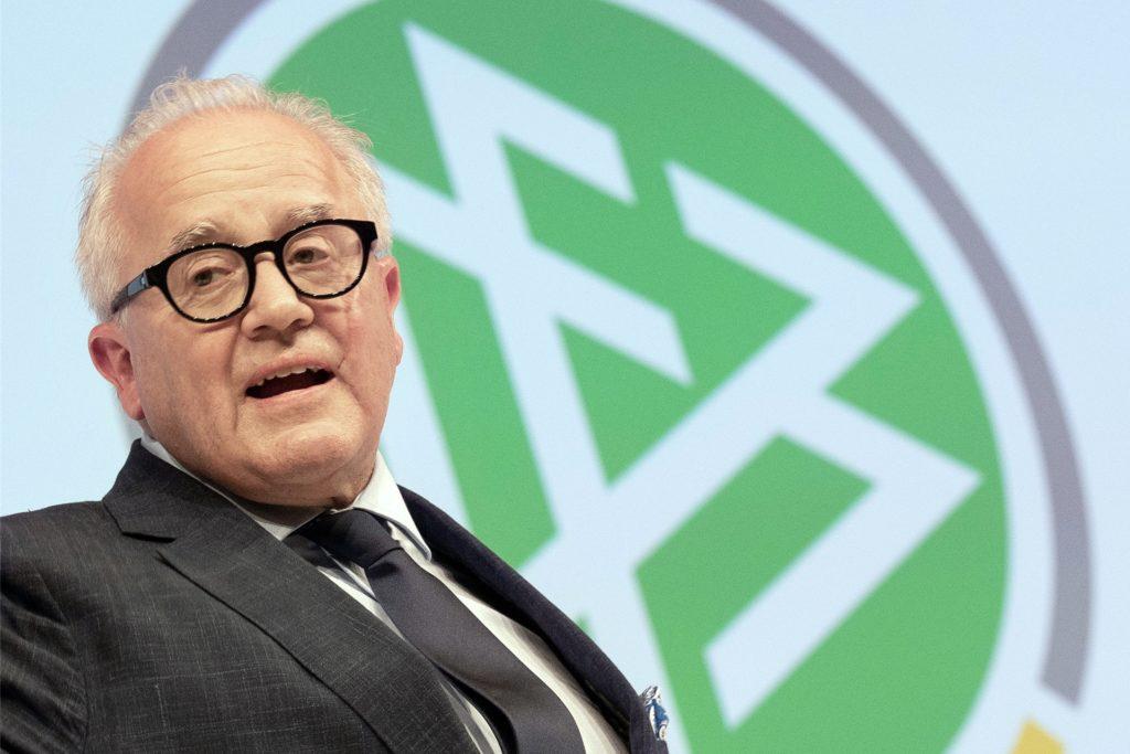 Hat nach seiner verbalen Entgleisung um Bedenkzeit gebeten: DFB-Präsident Fritz Keller.
