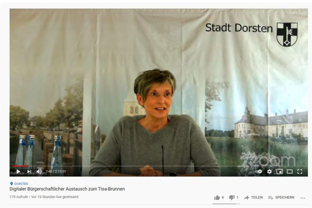 Elke Frauns (büro frauns kommunikation) moderierte die Veranstaltung.