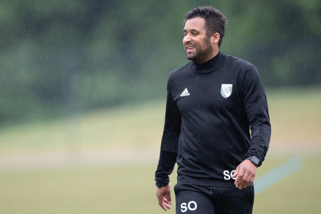 PSV-Trainer Sanmi Ojo arbeite gerne mit jungen Spielern zusammen.