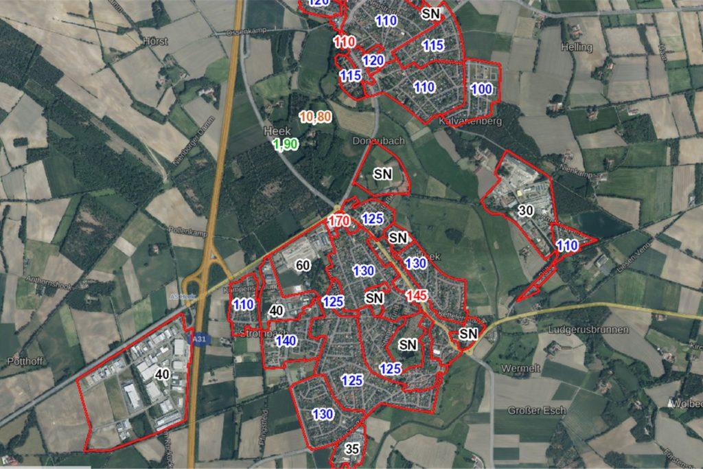 Beim Land NRW kann jeder öffentlich einsehen, wo welches Grundstück wie viel Geld wert ist.
