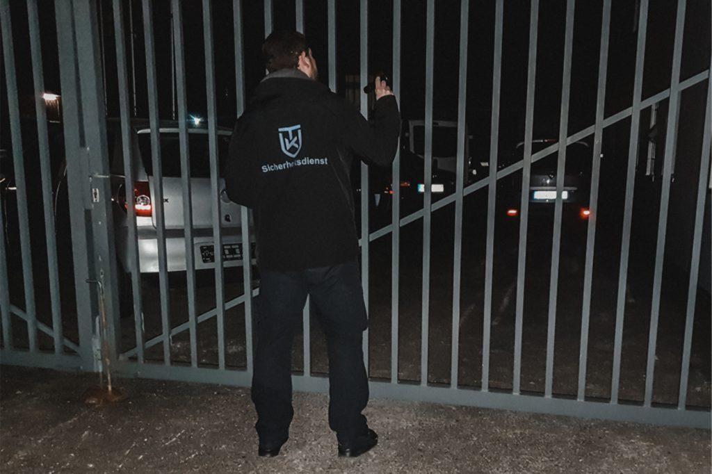Der TK-Sicherheitsdienst leistet vorbeugenden Einbruchschutz - besonders während des Lockdowns ist der mobile Objektschutz gefragt.