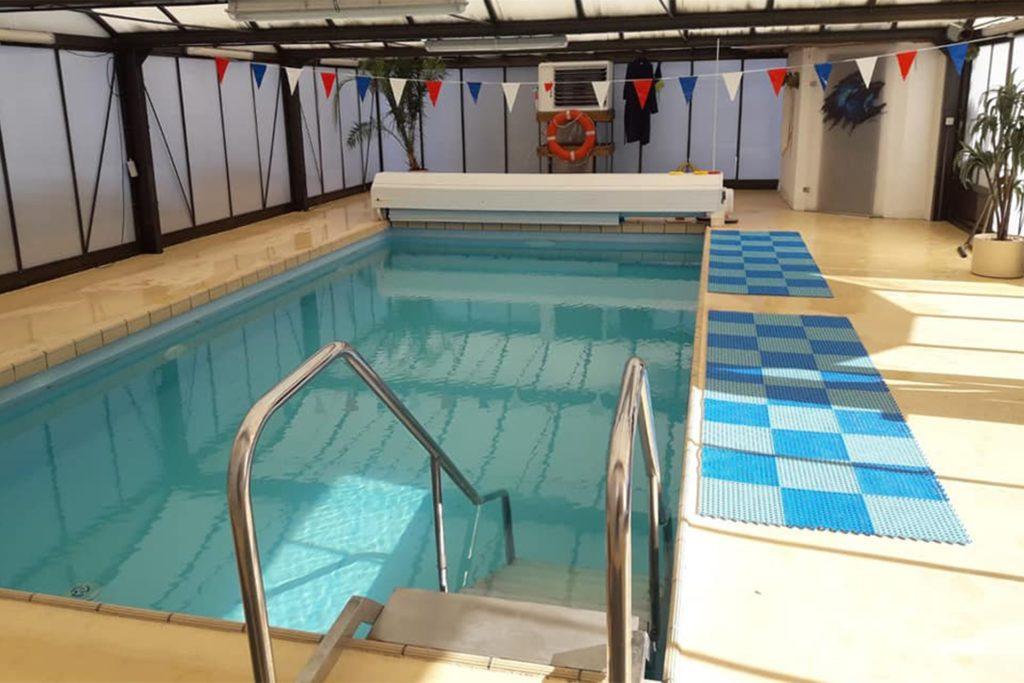Klein aber fein ist die private Schwimmschule in Lütgendortmund am Lindentalweg 16a.
