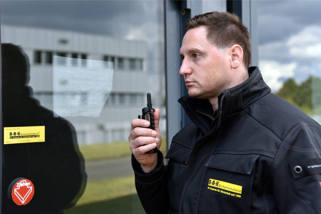 NRW-weit ist der BAK-Sicherheitsdienst von Heiko Havers im Einsatz.