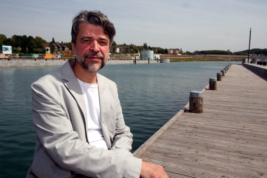Auch Phoenix-See Erfinder Nobert Kelzenberg war vor zehn Jahren Gast der See-Eröffnung.