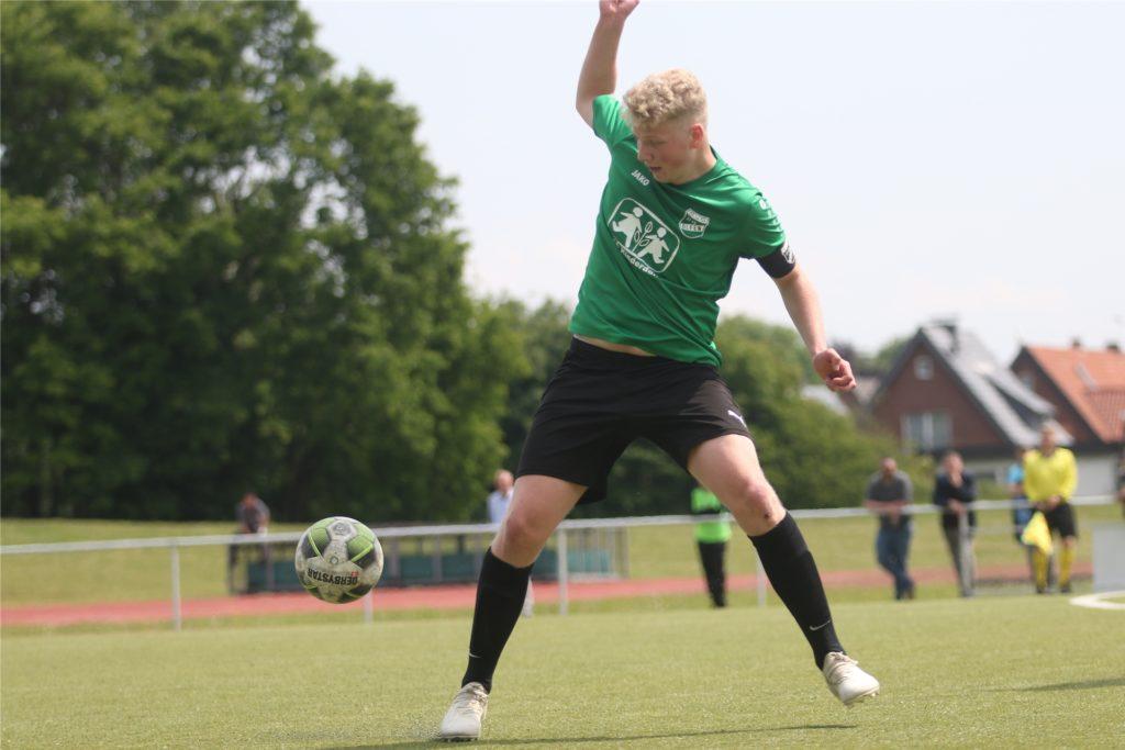 Tim Kortenbusch bringt es bereits auf zwei Bezirksliga-Einsätze.
