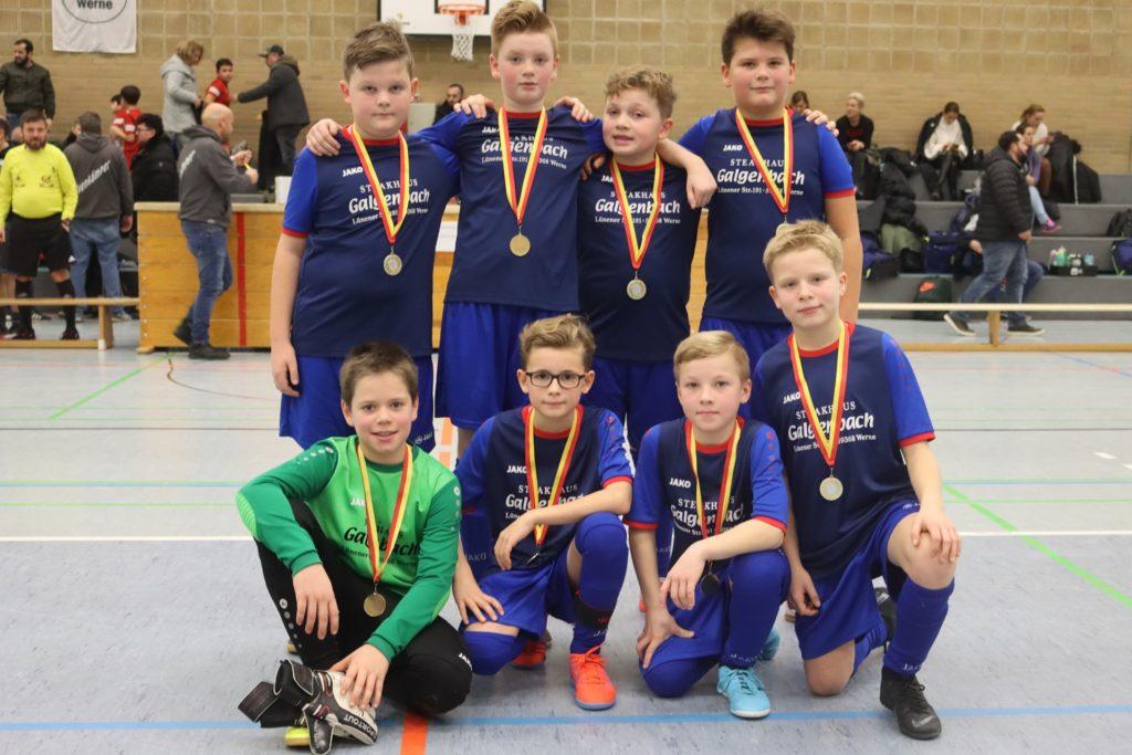 Letztes Jahr gewannen die E-Junioren des Werner SC ihren Wettbewerb.