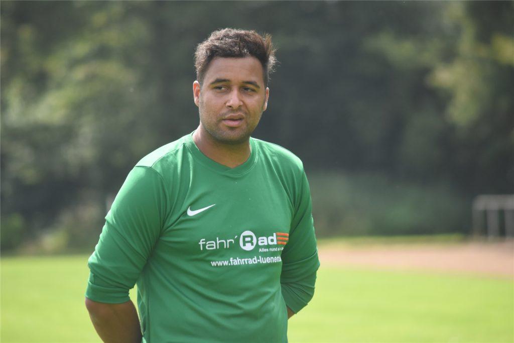 Sanmi Ojo wird beim Auftakttraining des PSV Bork wohl viele Spieler begrüßen dürfen.