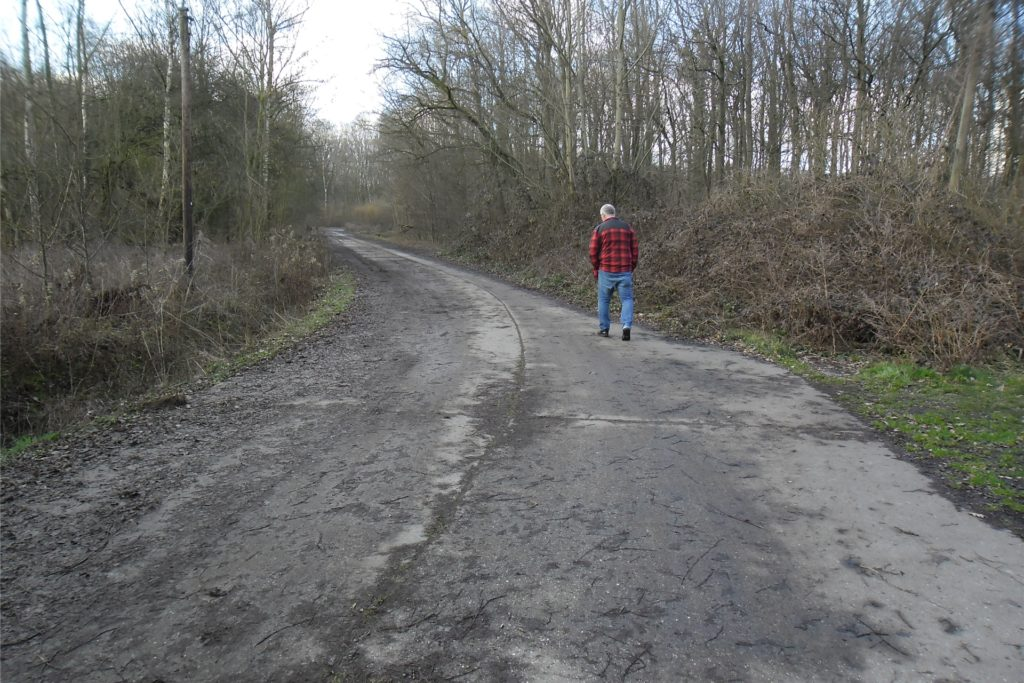 Im Naturschutzgebiet Buschei geht Klaus Hartz immer noch spazieren.