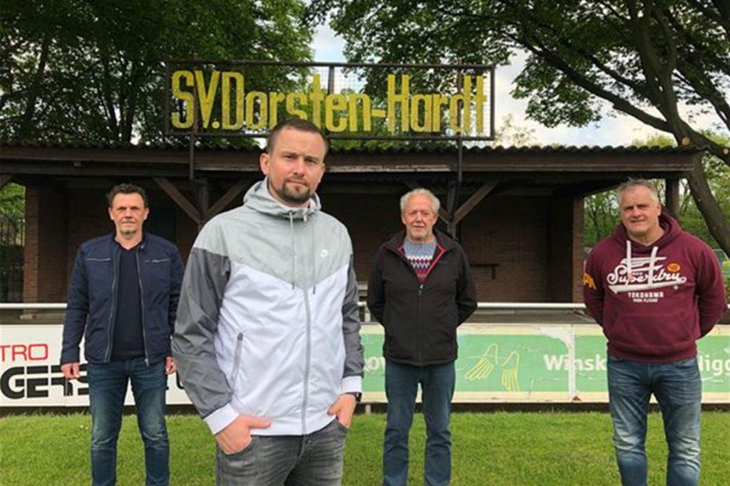 Trainervorstellung Marc Gebler, SV Dorsten-Hardt