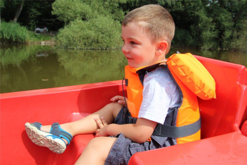 Ein beliebtes Ausflugsziel für Familien ist der Cappenberger See.