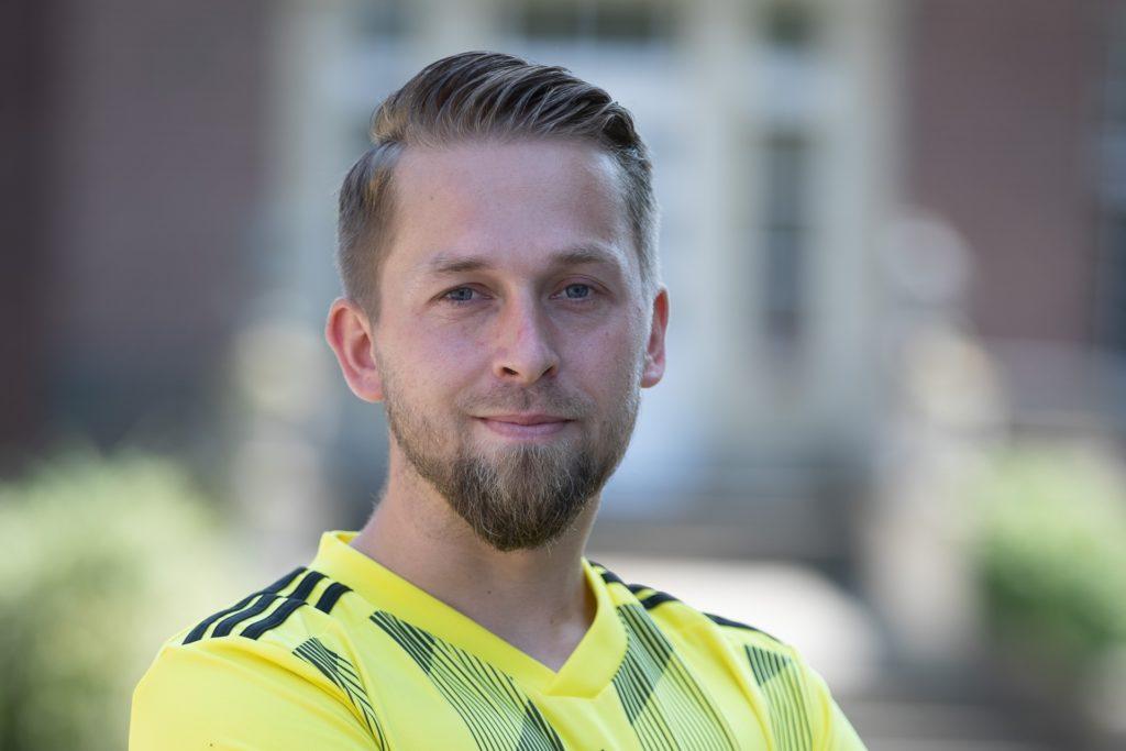 David Meyer tauscht in der neuen Saison das gelbe Trikot von Westfalia Vinnum gegen das von Grün-Schwarz Cappenberg.