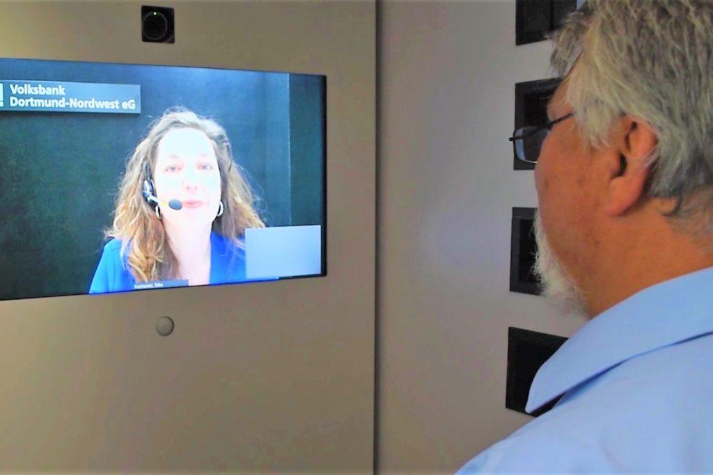 Die Videokabinen des VR-Sisy-Services gibt es nur noch in den drei großen Filialen in Mengede, Lütgendortmund und Huckarde.