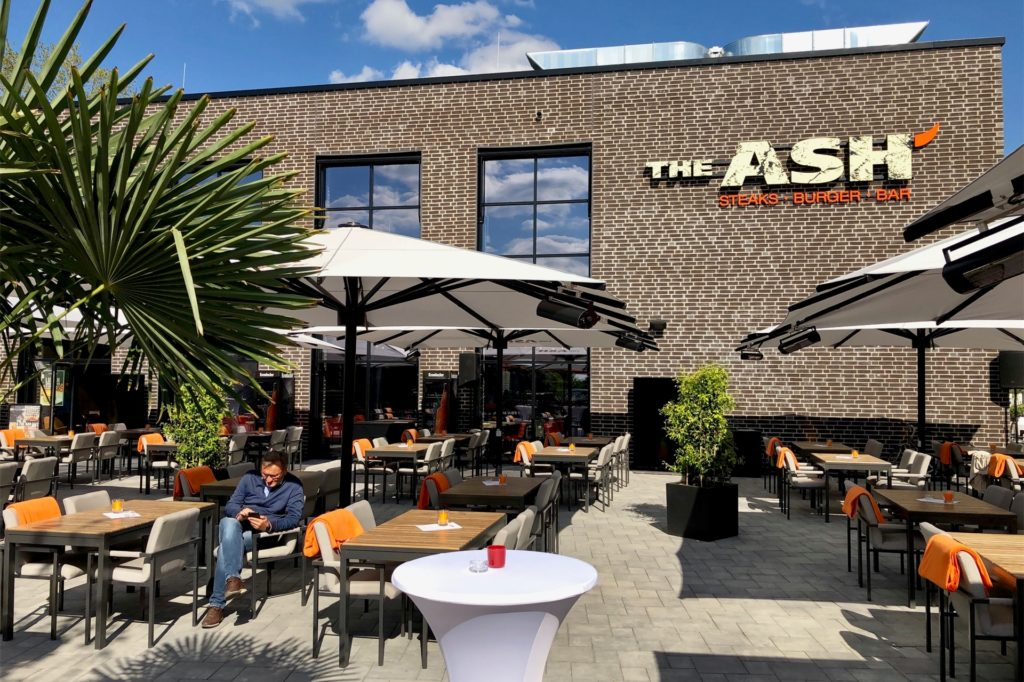 Das Ash an der Stadtkrone-Ost öffnet wieder seinen Außenbereich.