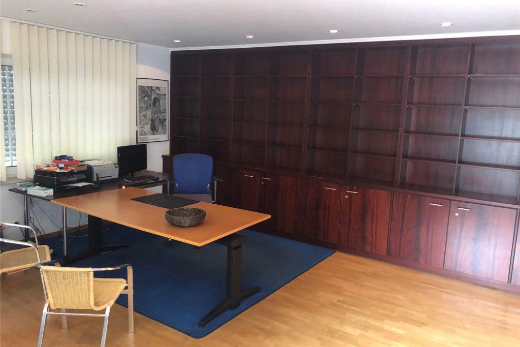 Das Arbeitszimmer von Arno Berning: Seine umfangreiche Bibliothek vermachte er einem Professorenkollegen.