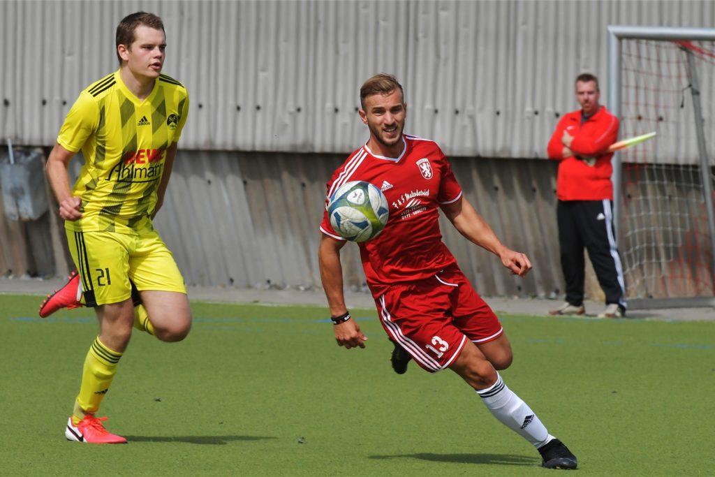 Albonit Kokollari hatte auch in der zweiten Mannschaft des Lüner SV ausgeholfen.