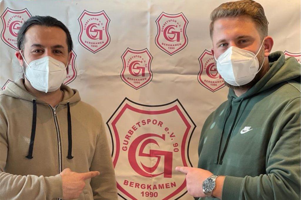 Neu-Trainer Aziz Öden und Deniz Erbay (re.) stehen auf Gurbet Spor Bergkamen und blicken in eine hoffentlich erfolgreiche Zukunft.